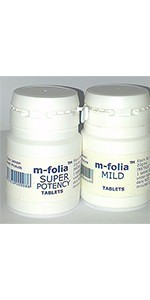 M-Folia Tablets for Psoriasis, Eczema & related skin conditions